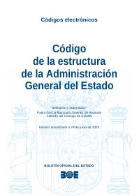Boe Es Código De La Estructura De La Administración