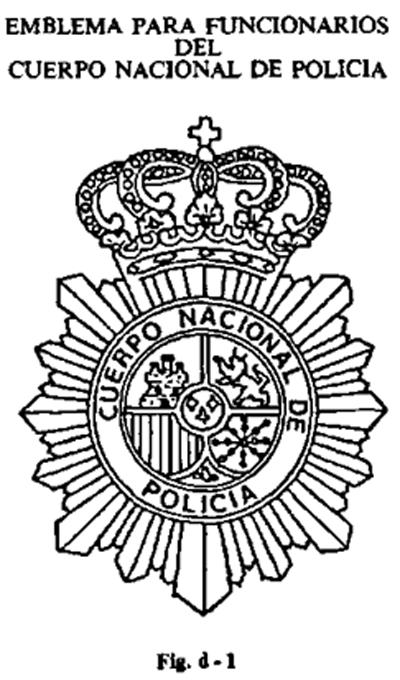 Documento boe a 1988 4249 for Ministerio de policia nacional