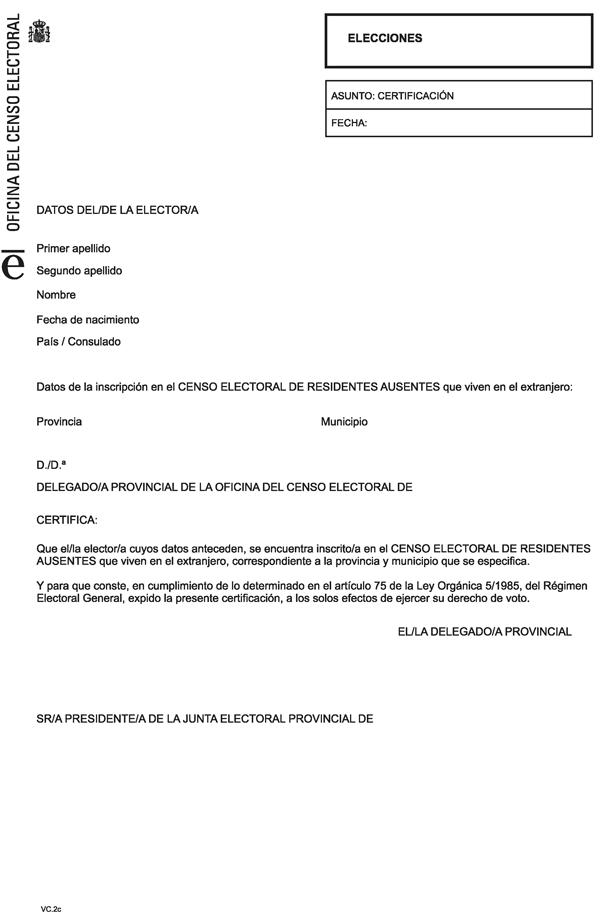 Documento consolidado boe a 1999 8583 for Oficina del censo electoral