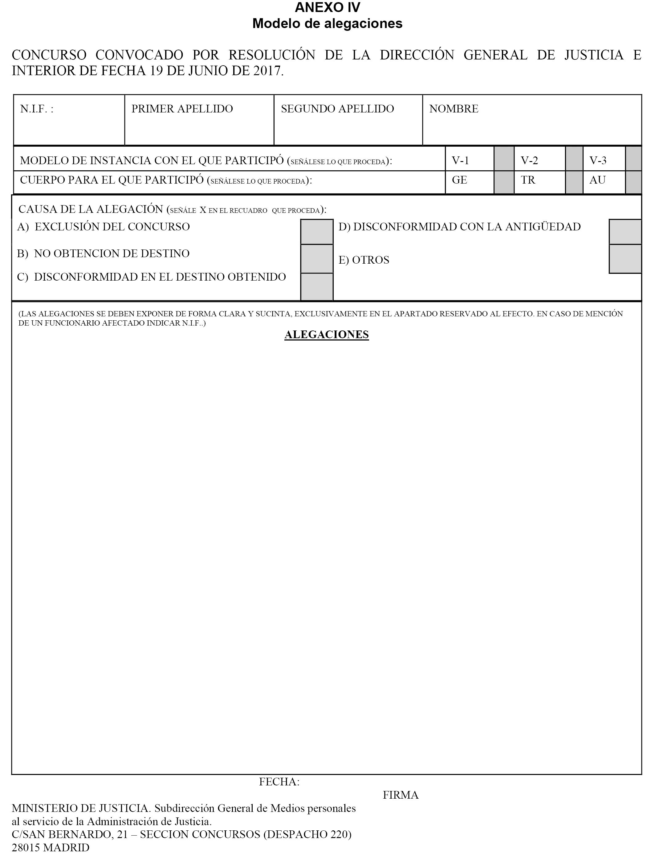Documento boe a 2017 7927 - Ministerio del interior oposiciones ...