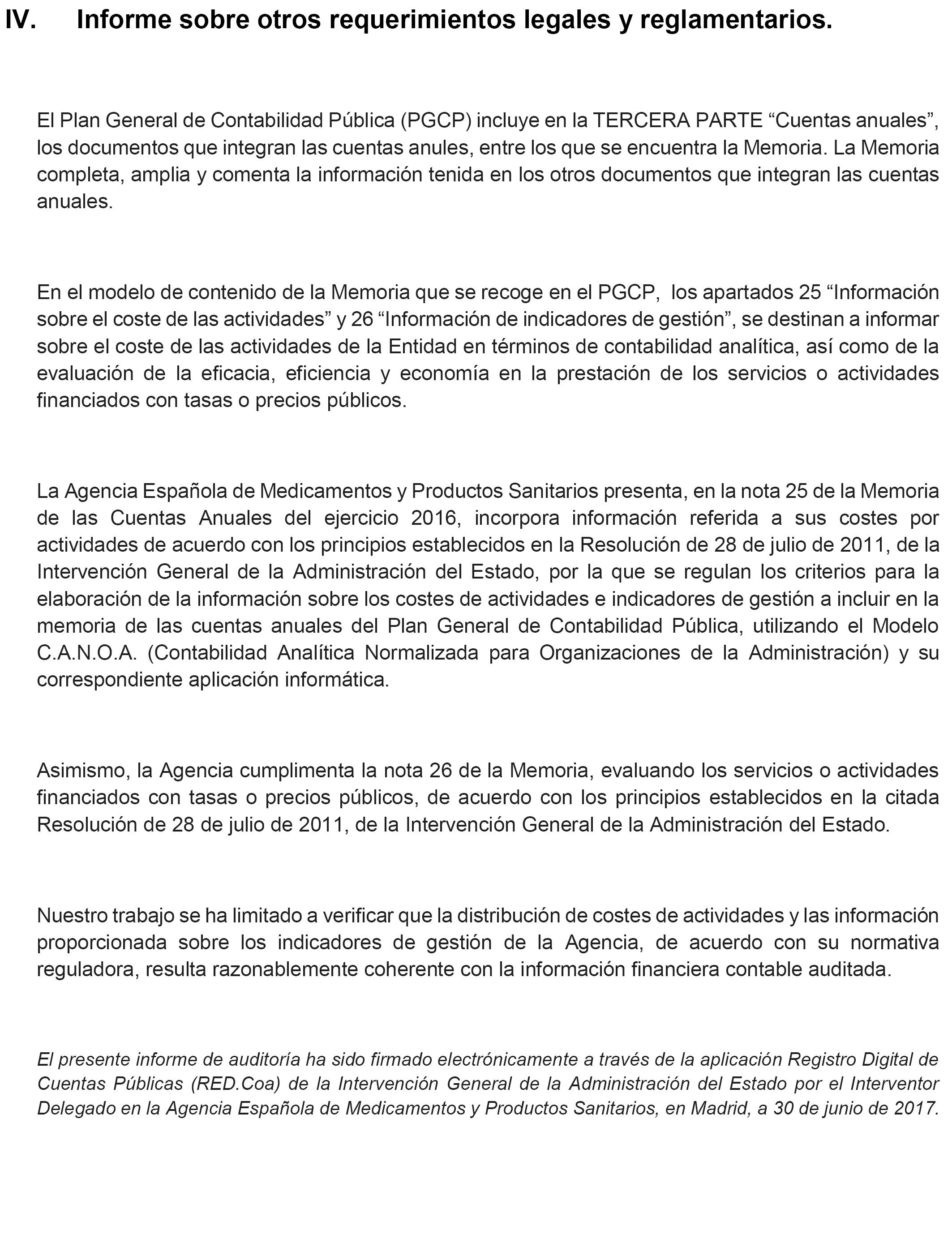 Boe Es Boe A 2017 9075 Resolución De 17 De Julio De 2017 De La Agencia Española De Medicamentos Y Productos Sanitarios Por La Que Se Publican Las Cuentas Anuales Del Ejercicio 2016 Y El