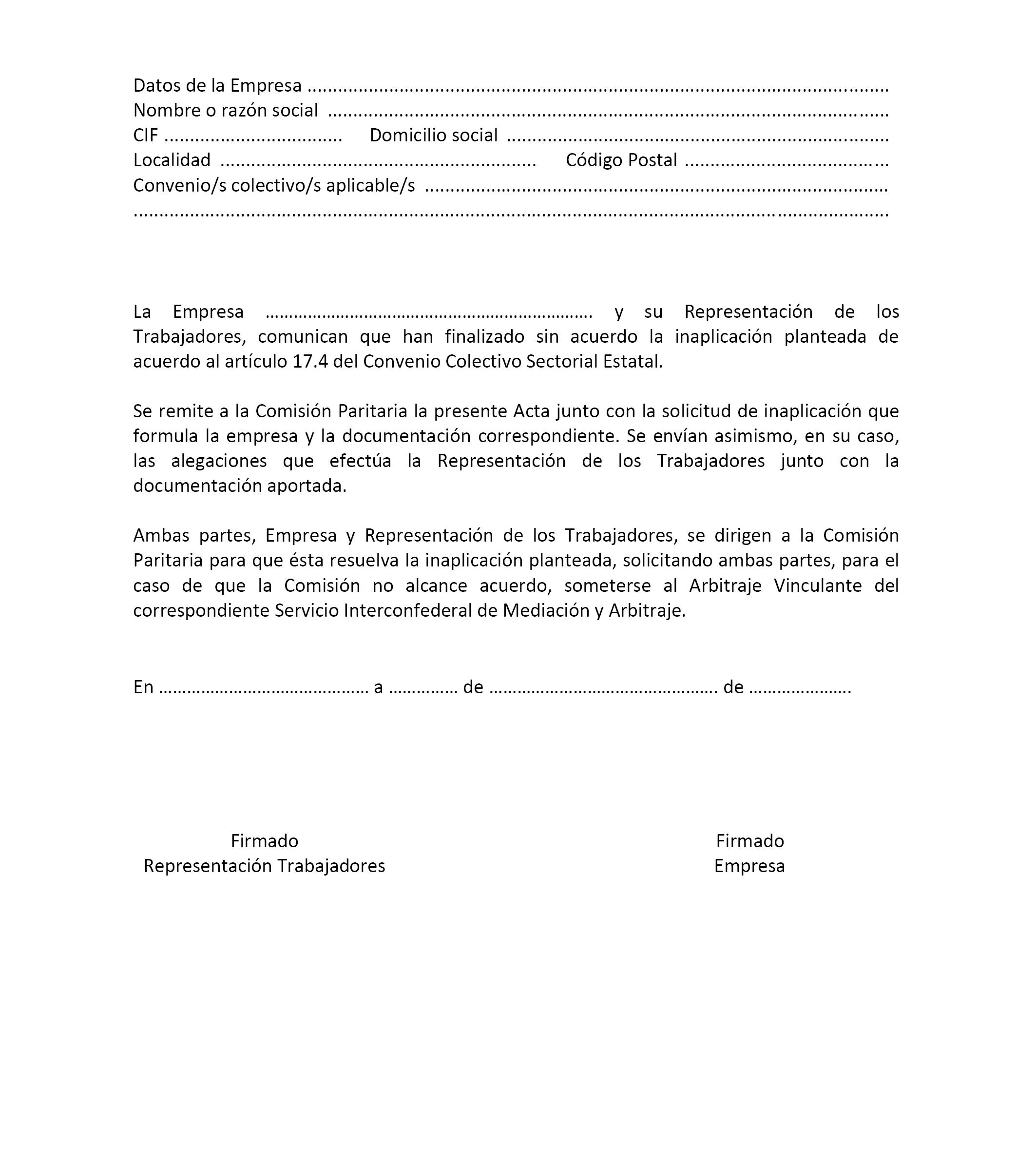 Documento boe a 2017 10951 for Formulario desistimiento
