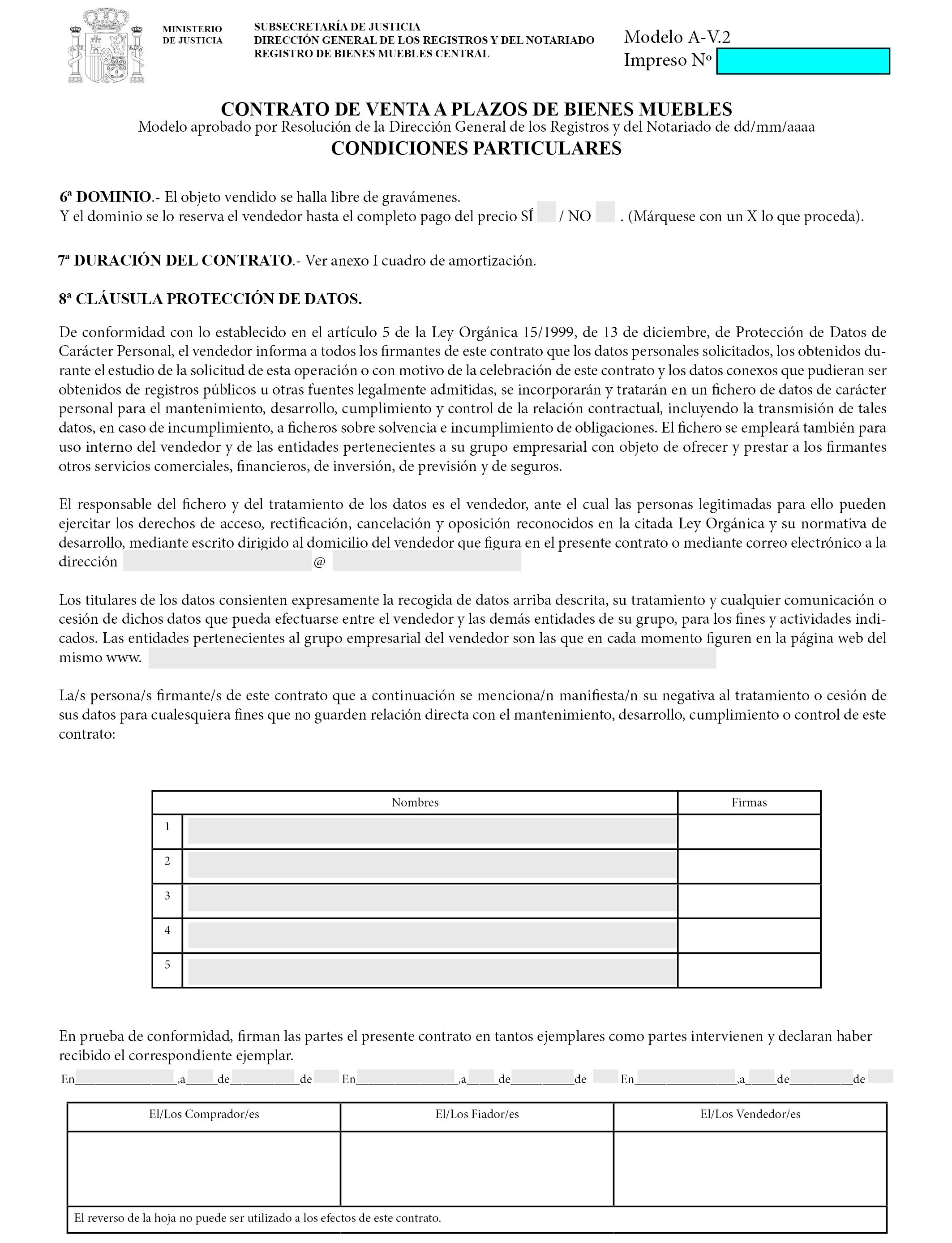 Documento boe a 2017 2761 for Registro de bienes muebles de valencia