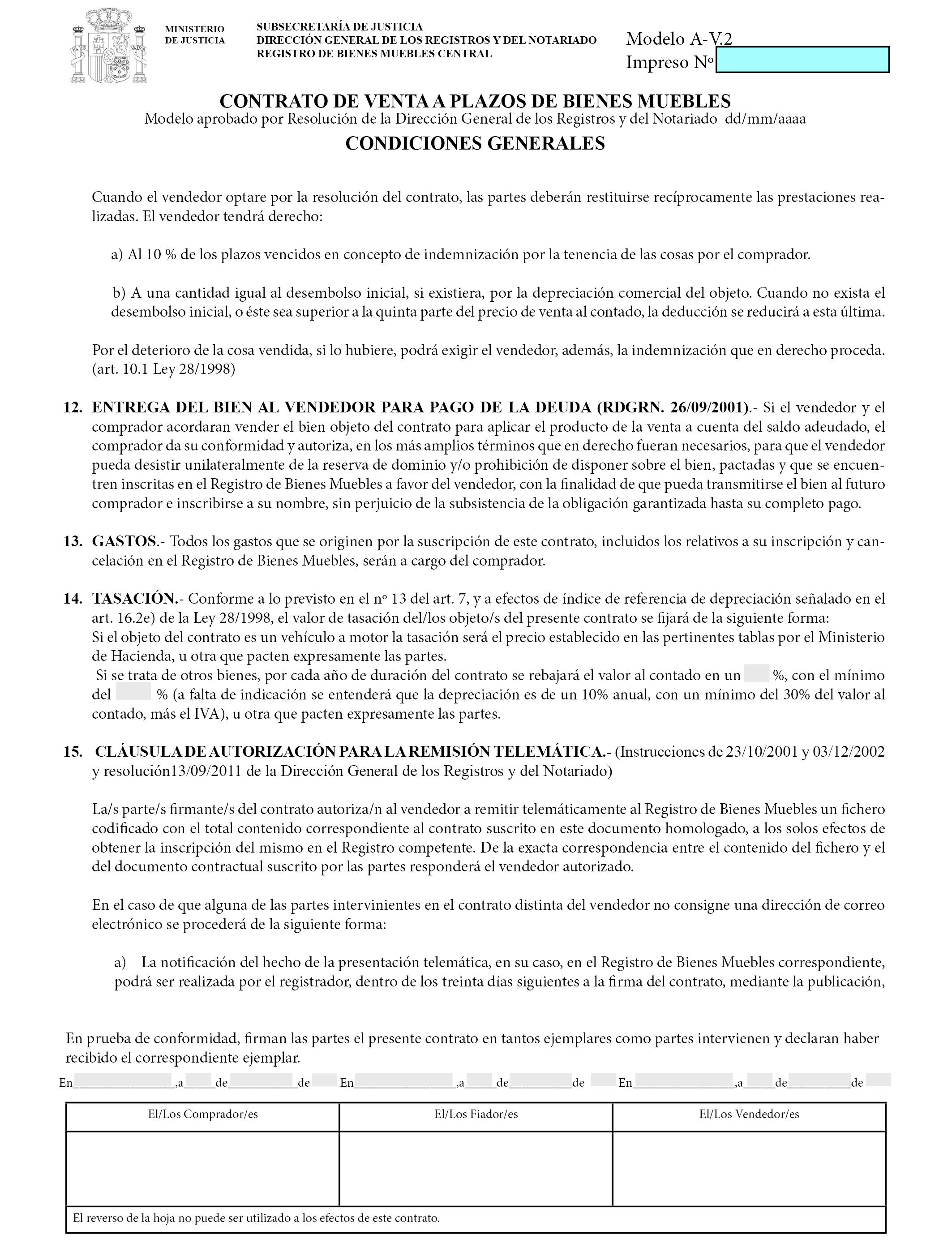 Documento boe a 2017 2761 for Registro bienes muebles madrid
