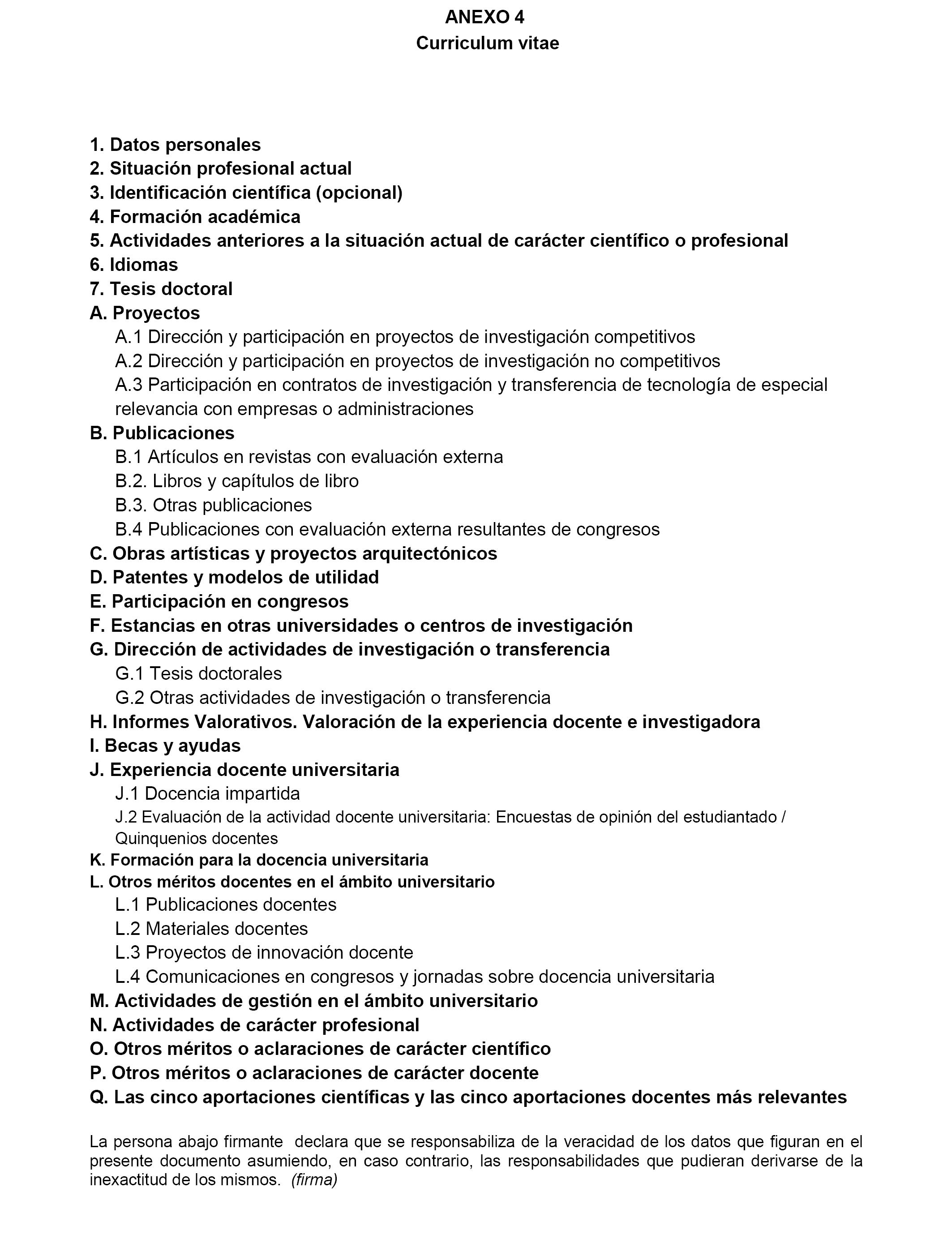 Encantador Profesor Universitario Curriculum Vitae Pdf ...