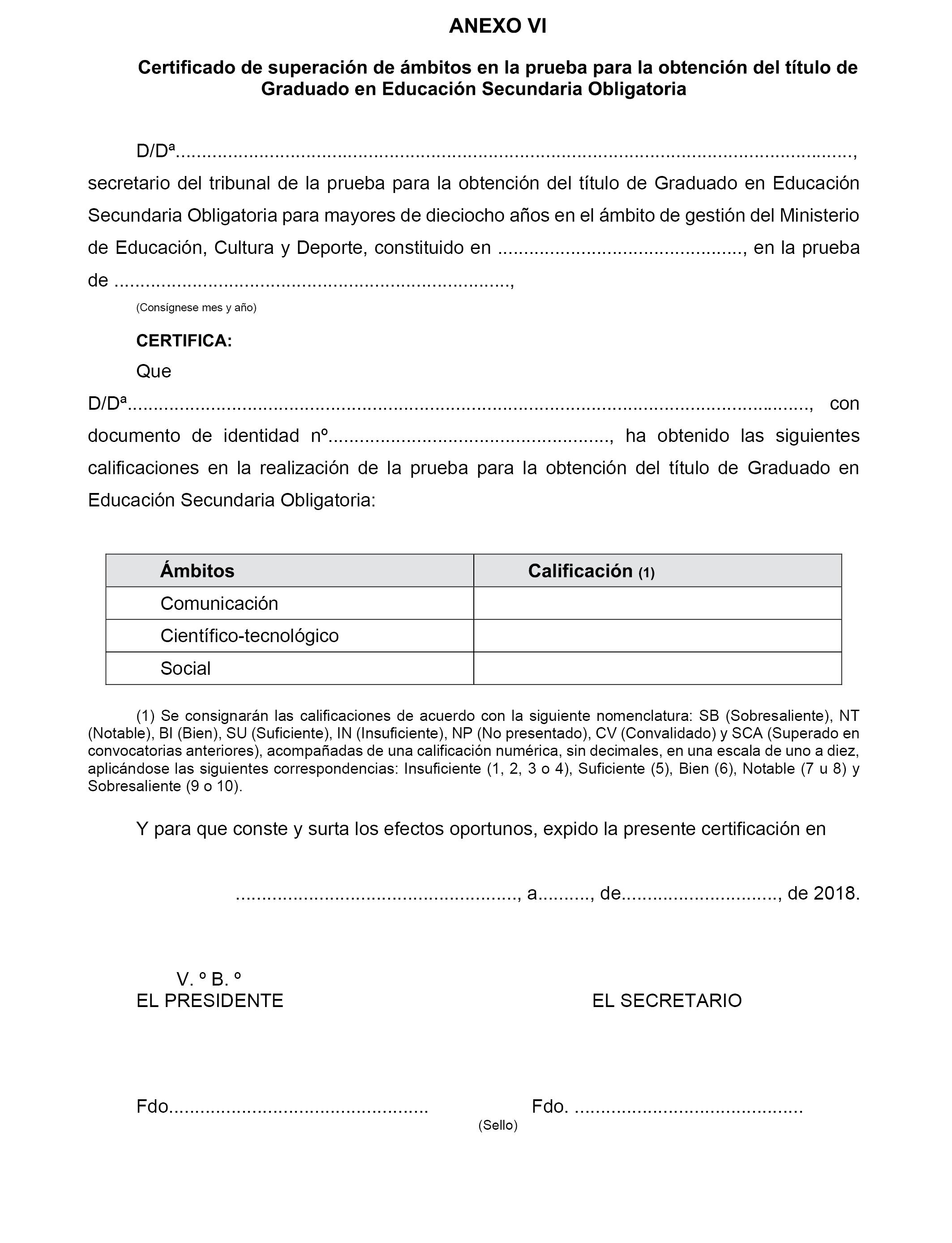 Asombroso Ejemplo De Calificaciones De Currículum Imágenes - Ejemplo ...