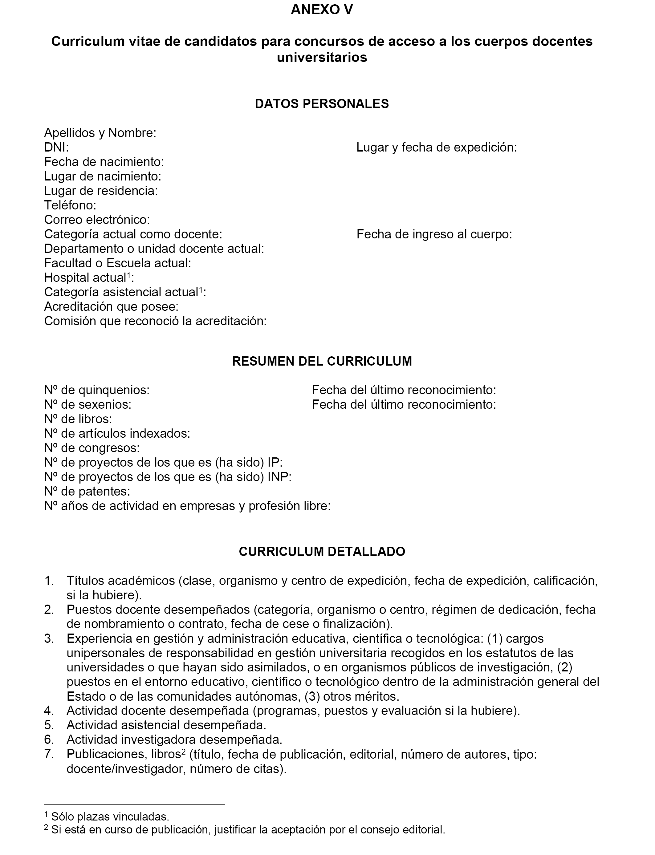 Moderno Curriculum Vitae Para Profesores Elaboración - Ejemplo De ...