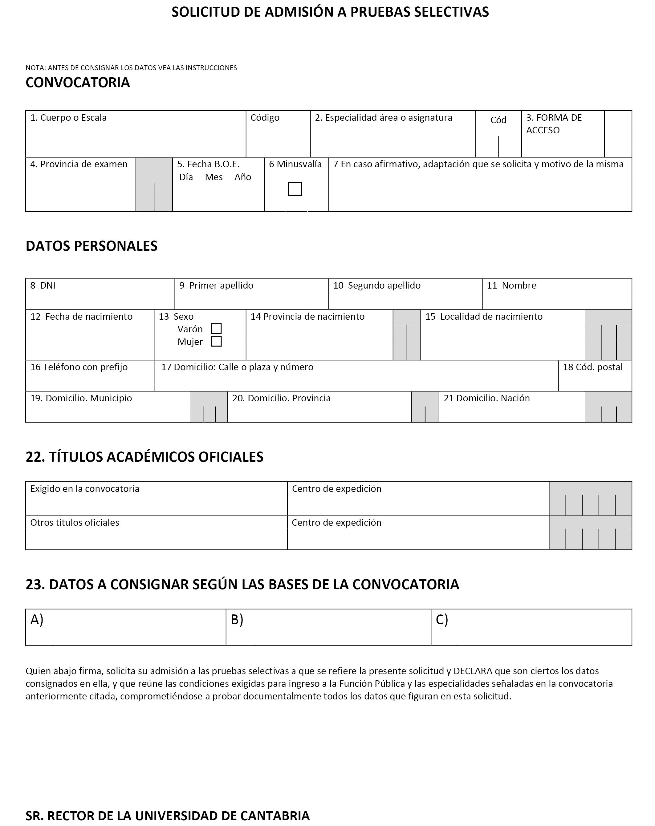 Calendario Examenes Unican Derecho.Boe Es Documento Boe A 2019 7197