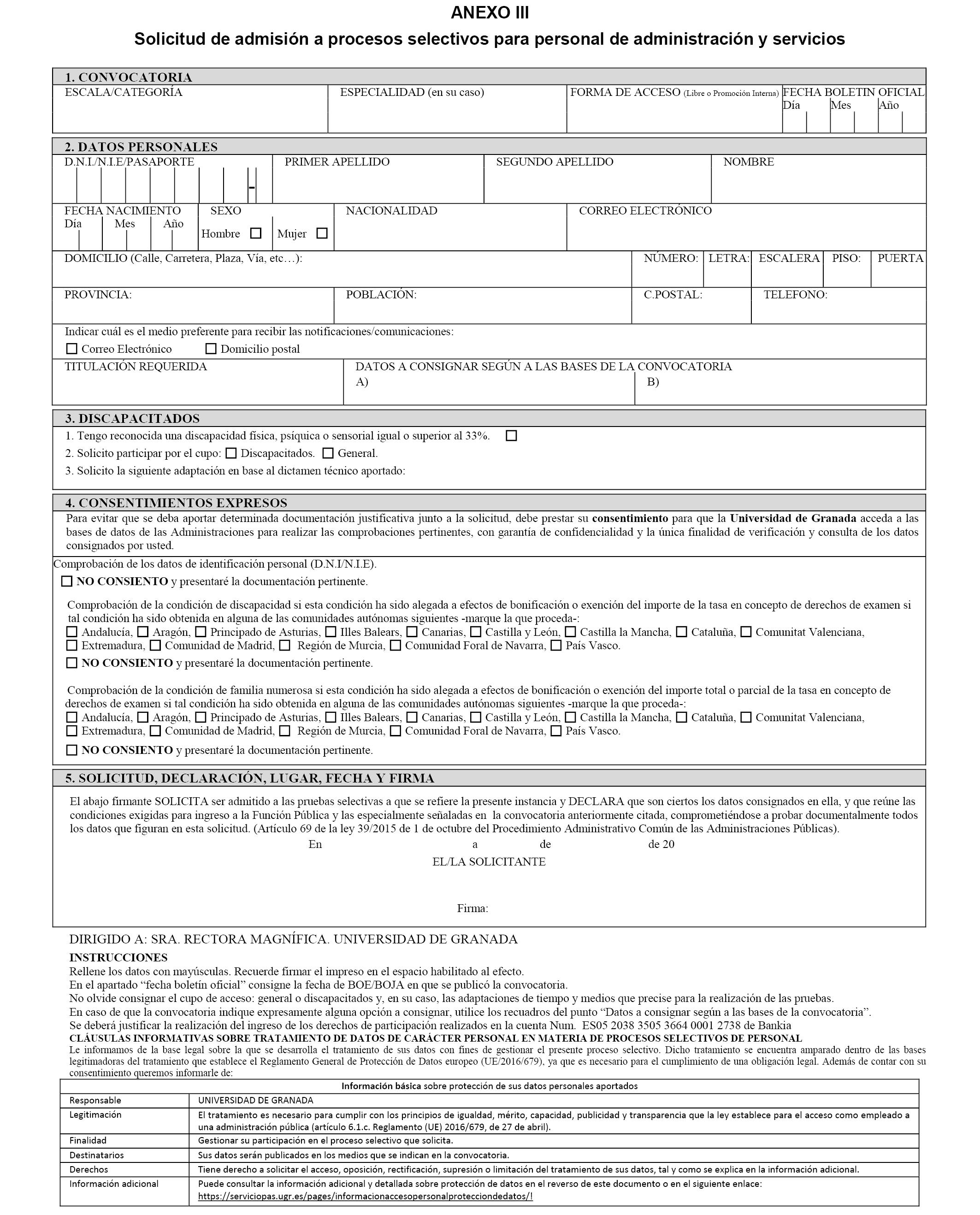 Calendario Ugr 2020.Boe Es Documento Boe A 2019 11679