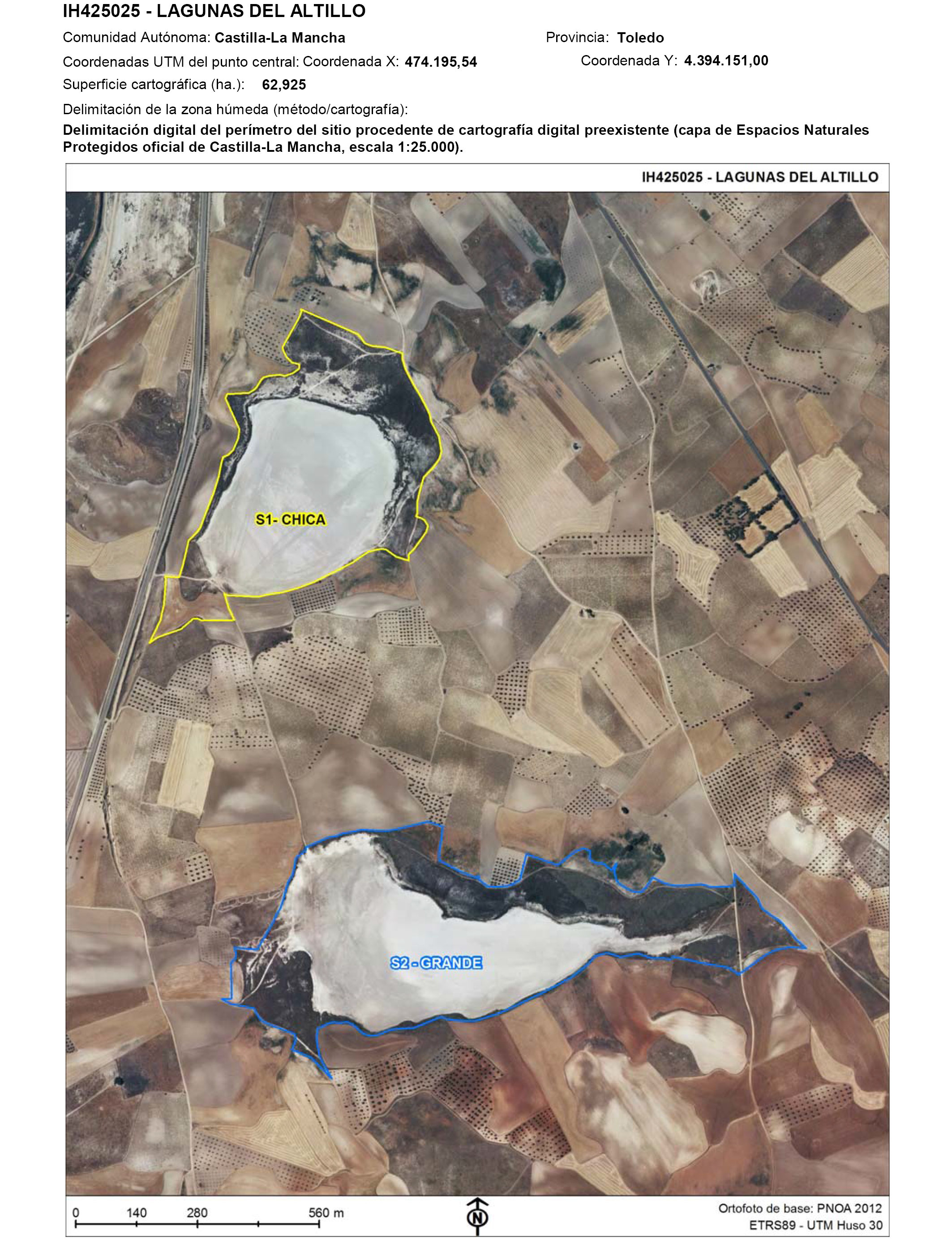 Resultado de imagen de Laguna del Altillo Grande