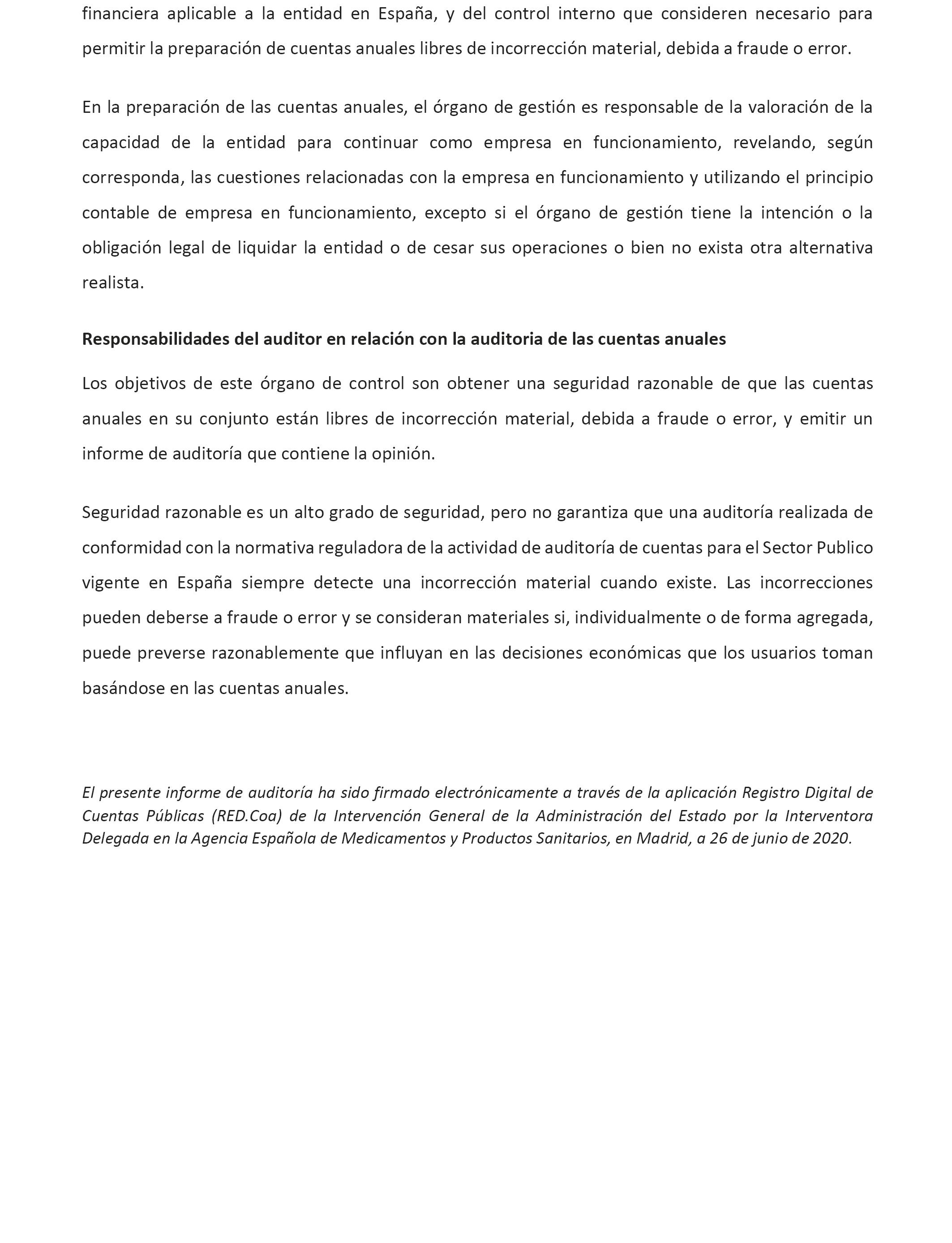 Boe Es Boe A 2020 8538 Resolución De 20 De Julio De 2020 De La Agencia Española De Medicamentos Y Productos Sanitarios Por La Que Se Publican Las Cuentas Anuales Del Ejercicio 2019 Y El