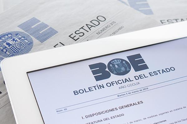 BOE.es - Agencia Estatal Boletín Oficial del Estado